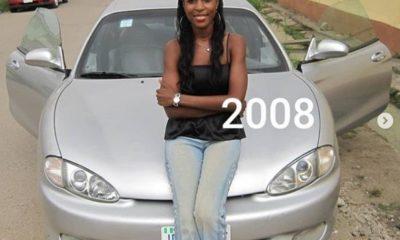 linda ikeji car 2008