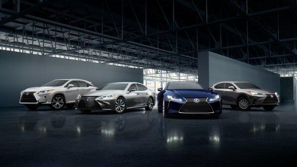 lexus vehicel sales