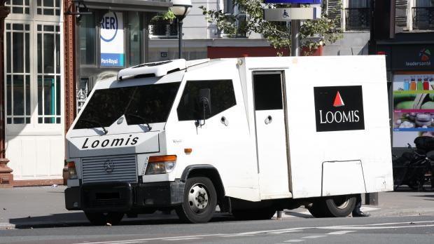 armoured van driver