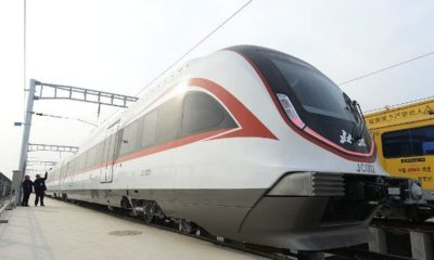china driverless train