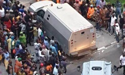 bullion vvans heading into tinubu's ikoyi compound