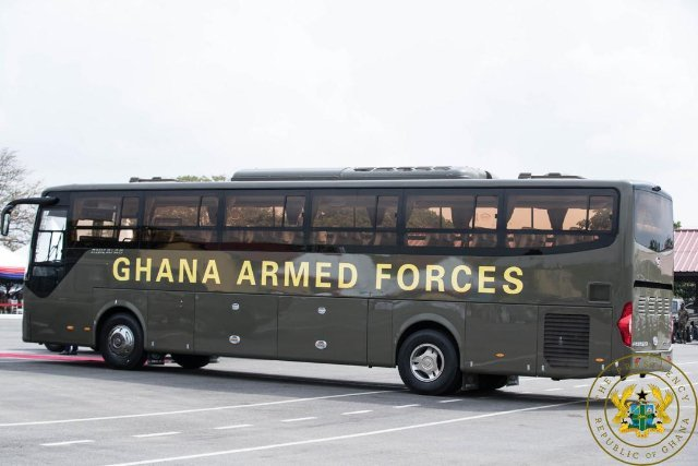 ghana armed forces vehicle
