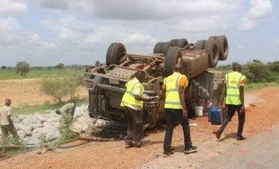 accident scene in yobe