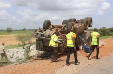 accident scene in yobe