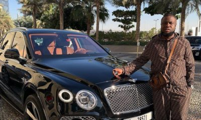 hushpuppi bentley bentayga