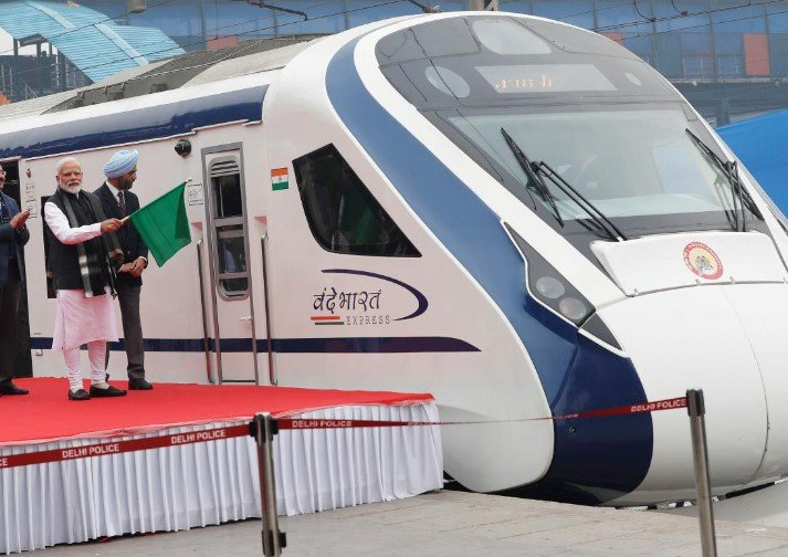 india's high speed train breaks down after launch