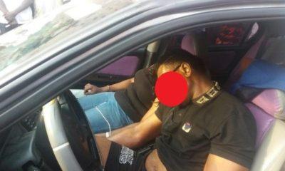 man and woman dies in car lagos