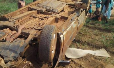 pregnant woman and kids survive accident
