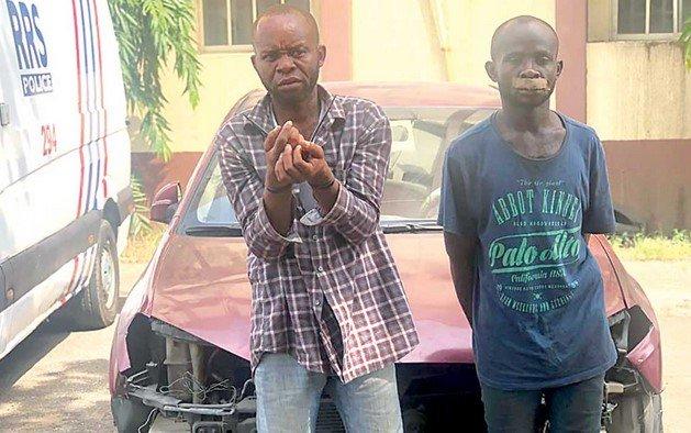 rss arrests uber driver killers