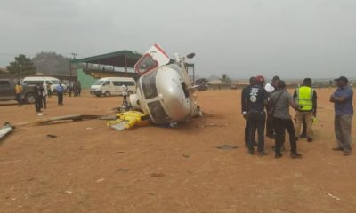 osinbajo chopper crash site