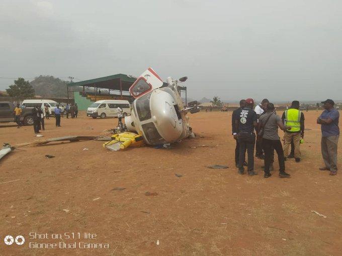 osinbajo chopper crash site