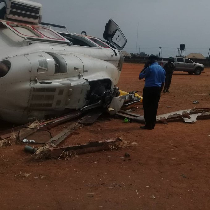 vp osinbajo chopper crash land