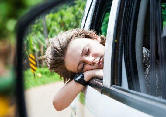 car motion sickness prevention