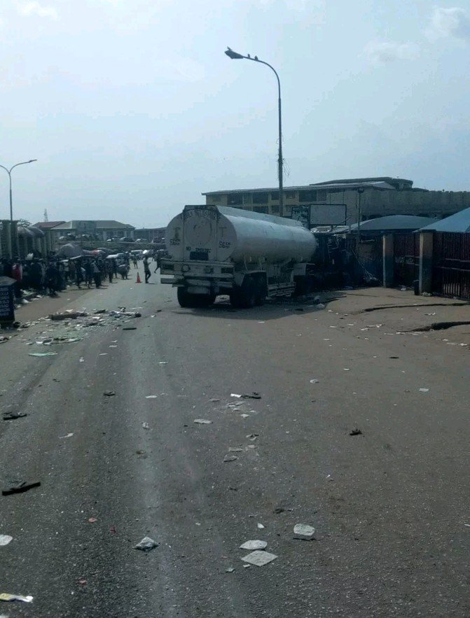 tanker driver onitsha accident