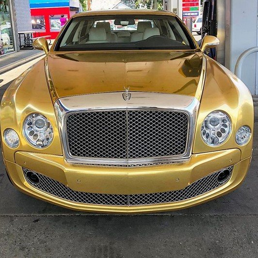 50 cent bentley mulsanne