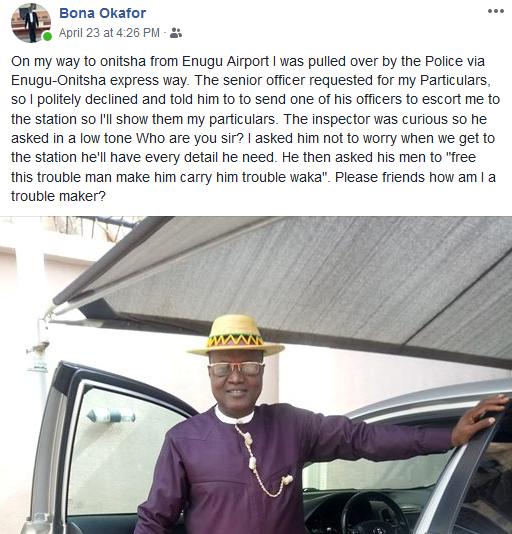 anambra business man police