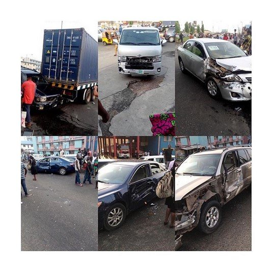container truck accident