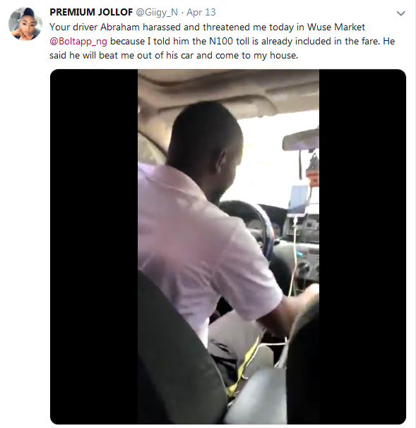 lady record taxify bolt driver