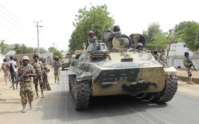 nigerian army vehicles