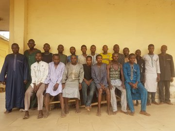 nigerian police arrests kidnappers