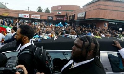 nipsey hussel funeral procession