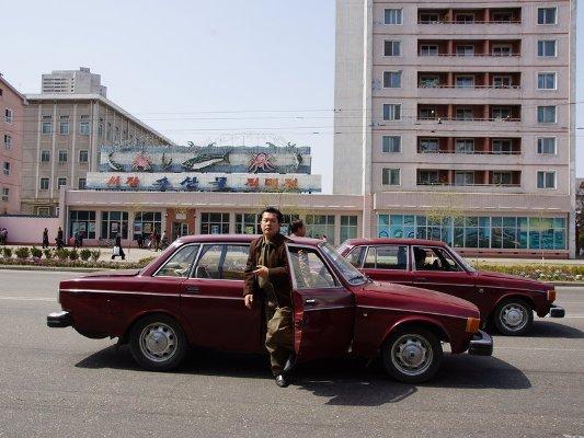 north korea volvo