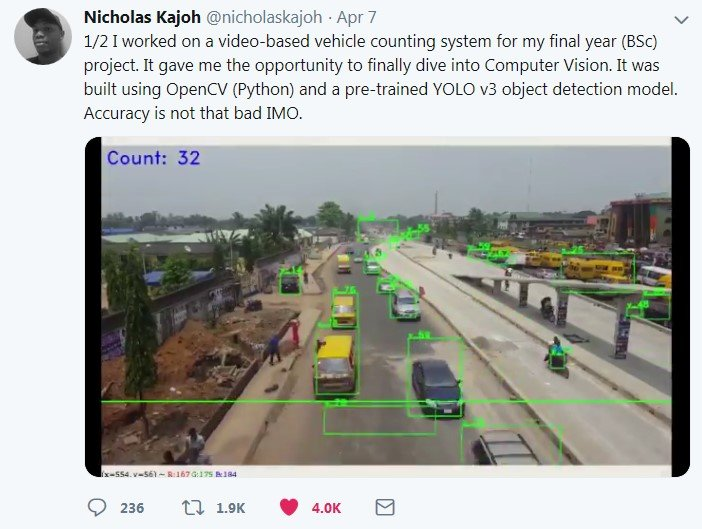 video-based vehicle counting system