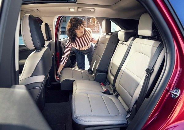 2020 ford escape back seats