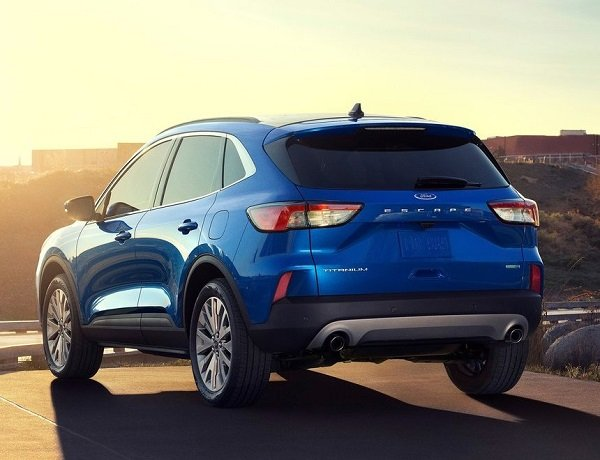 2020 Ford Escape Unveiled