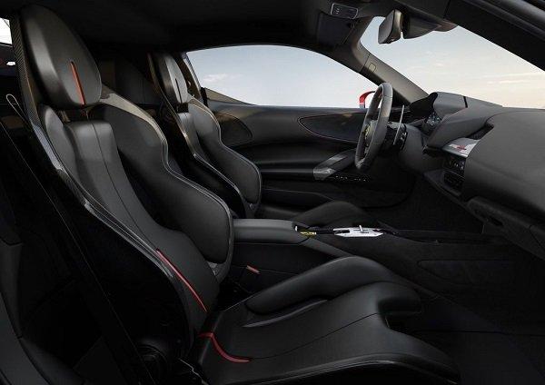 Ferrari SF90 Stradale interior 2