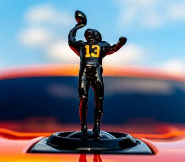 Obj Swaps Spirit Of Ecstasy On His Cullinan With A