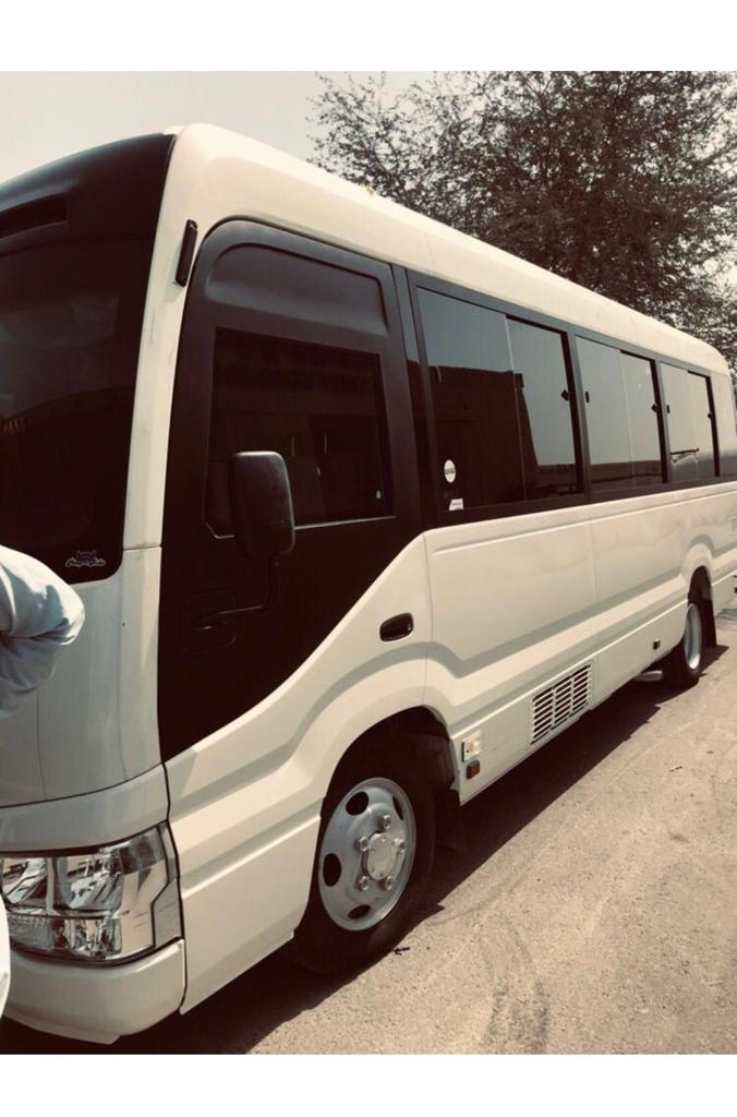 bulletproof toyota coaster bus