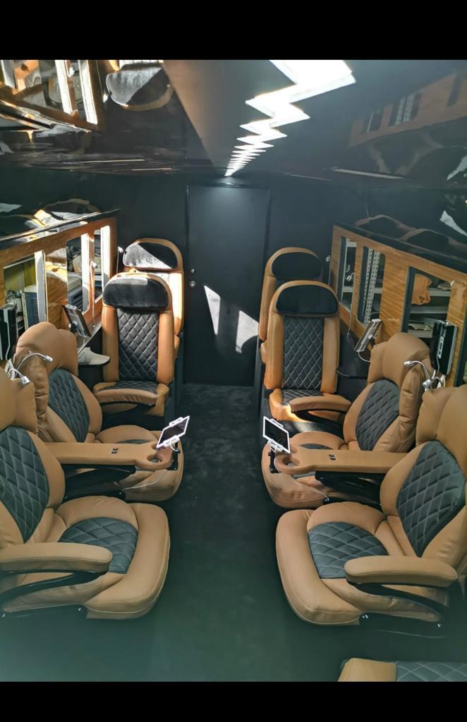 bulletproof toyota coaster bus seats