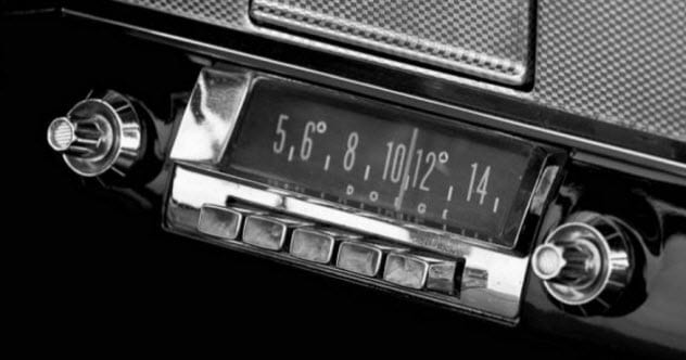 automobile firsts radio