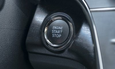 toyota push start button