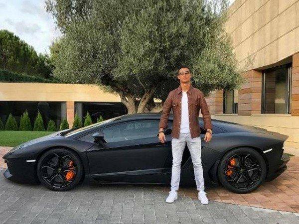 Cristiano Ronald Lamborghini Luxury Car