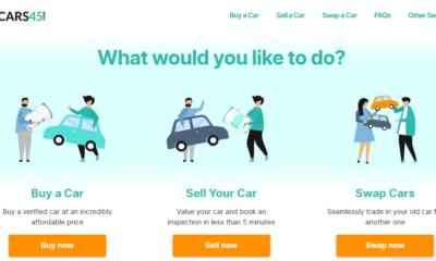 cars45 website