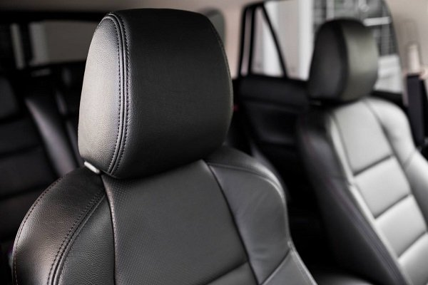 headrest in a car