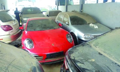 customs seized cars
