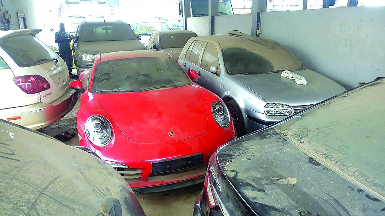 customs seized cars