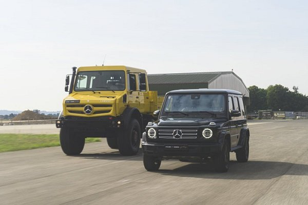 mercedes benz unimog and gclass