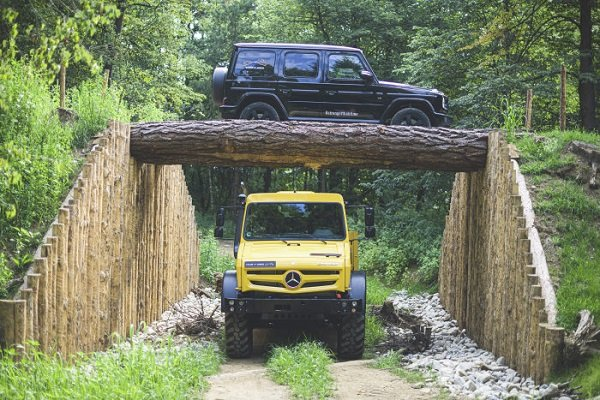 mercedes benz unimog and gclass 2