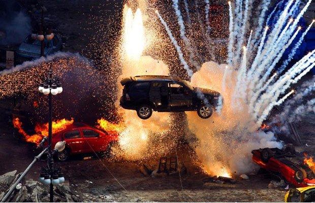 car stunt movie