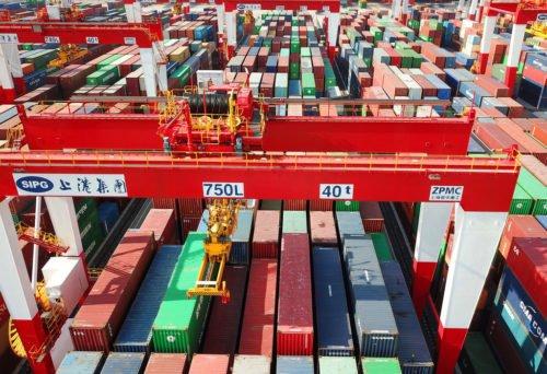 shanghai port china