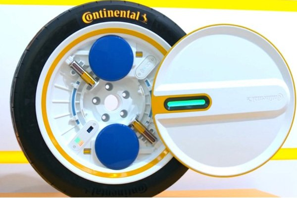 Tyres That Can Regulate It Own Pressure