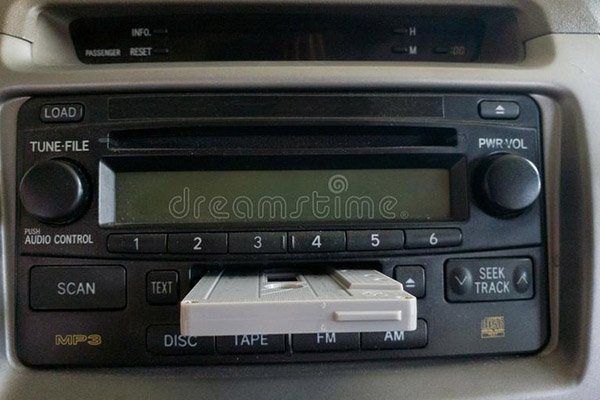 Cassette/CD player