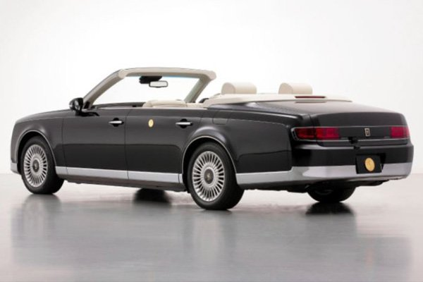 This Convertible Toyota Century Was Custom-Made For Japan's New Emperor