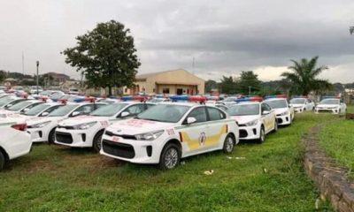 Oyo-state-Kia-Rio-patrol-vehicles-2