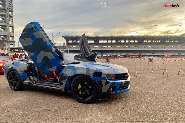 Alexx Ekubo's Chevrolet Camaro