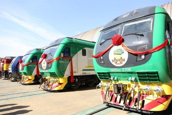 Rotimi Amaechi Trains railway